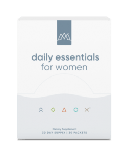 women's daily essentials packets