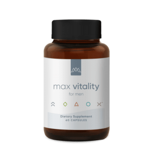 Support normal hormone levels for healthy libido with Max Vitality for men.