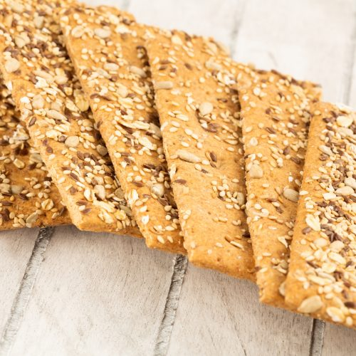 raw vegan flaxseed crackers