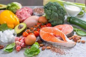 keto diet vegetables and protein