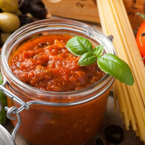 tomato based pasta sauce recipe