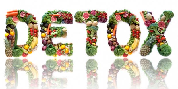 detox vegetables and fruits