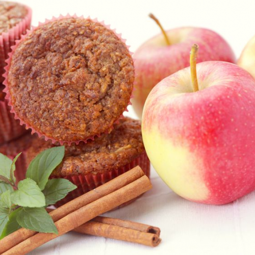 Apple Flaxseed Muffins Recipe