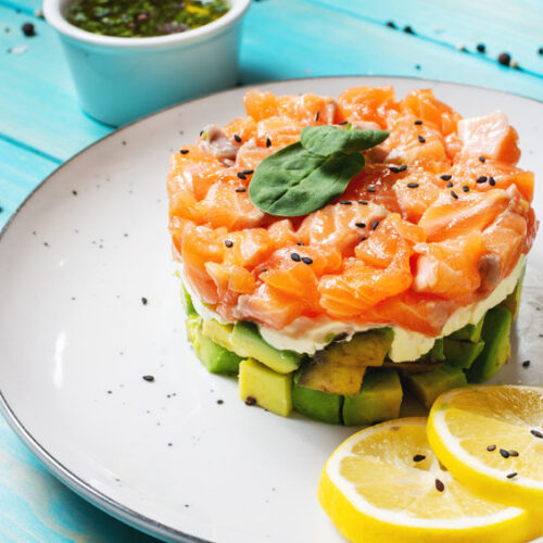 Try this quick and easy Smoked Salmon Tartar Recipe