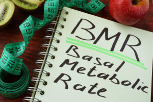 Your BMR or Basal Metabolic Rate is the total calories you burn each day without exercise.