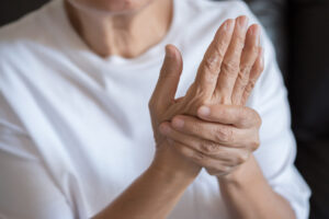 Joint pain caused by arthritis