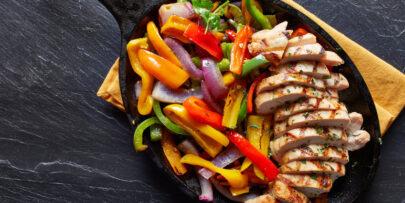Try this chicken fajitas style recipe.
