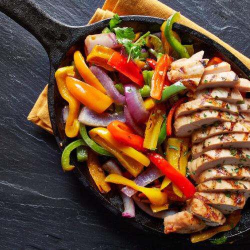 Try this chicken fajitas style recipe