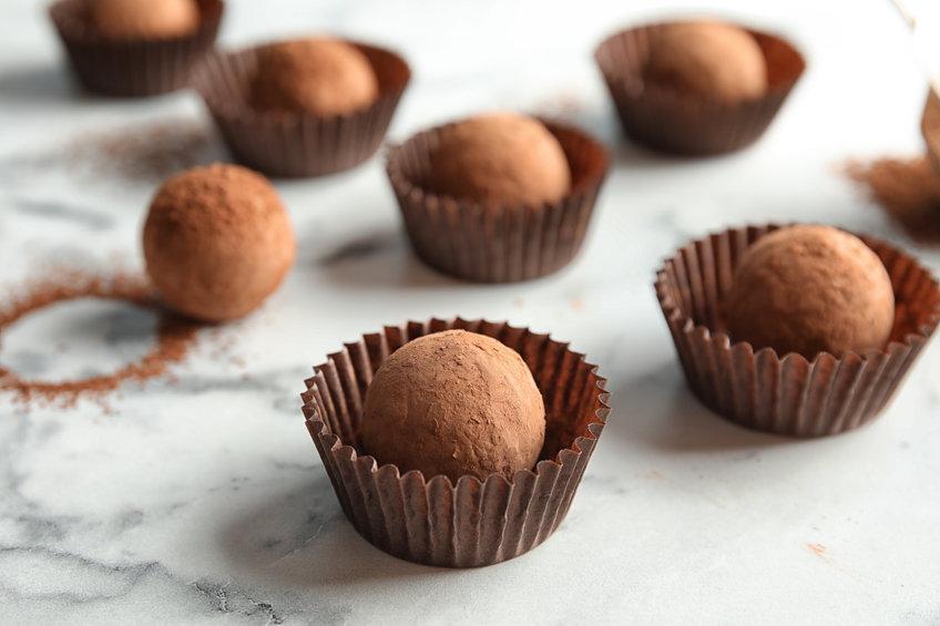 No sugar Chocolate Truffle Recipe